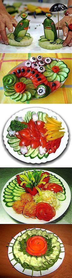 (+1) тема - Оформление овощных нарезок   ВКУСНО ПОЕДИМ!