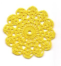 Set Of 8 Crocheted Doilies Crochet Medallions Assortment Mini