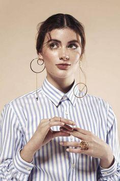 Brincos grandes estruturados: a moda que vai te fazer brilhar nos bloquinhos