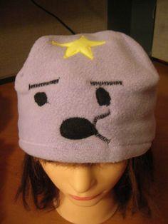 adventure time lumpy space princess hat.