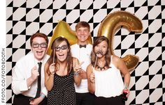 Mississippi College #welcomeweek A Night in Black & White #photobooth