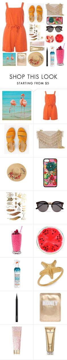 """Take me away: Tropical Vacation!"" by fluffy-bunny4 ❤ liked on Polyvore featuring Dorothy Perkins, rag & bone, Cynthia Rowley, Dolce&Gabbana, Illesteva, Not Your Mother's, Valentino, MAC Cosmetics, Lapcos and AERIN"