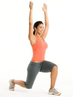 This workout targets your core muscles, tightening your abs and giving you a smaller, flatter stomach. Do two sets of the moves in this 20-minute routine twice a week, and you'll say goodbye to that belly flab in no time.