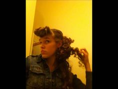 Pentecostal Curly Hairstyle Church Hairstyles, Wedding Hairstyles For Long Hair, Cute Hairstyles, Curly Hair Styles, Cool Style, Health And Beauty, Hair Beauty, Youtube, Fun