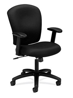 HON HVL220 Task Chair for Office or Computer Desk Black ** Learn more by visiting the image link.