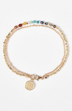 Free shipping and returns on Astley Clarke 'Biography - Cosmos' Bracelet at Nordstrom.com. Hand-beaded vermeil nuggets and faceted semiprecious stones pair with a delicate chain to form a lovely, feminine bracelet boasting a symbolic charm. Layer it with other Astley Clarke bracelets to create a customized story—your own biography.