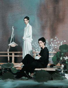 Fiercelynormal — ohsehuns: The Untamed x Harper's Bazaar China. Leorio Hxh, Summer Memories, Bts Chibi, Character Aesthetic, Drama Movies, Harpers Bazaar, K Idols, Mixtape, Foto E Video