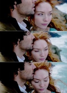 Lovely couple... Ross and Demelza Poldark