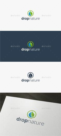 Drop Nature - Logo Template - Nature Logo Templates