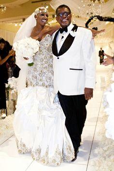 Get NeNe Leakes' Wedding Tips for a fabulous wedding! Number #1 rule? Love your dress! #WeddingWednesday