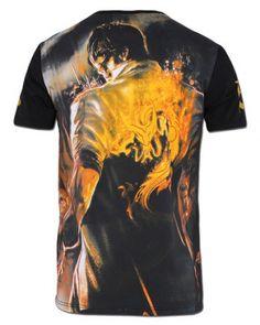 League of Legends Lee Sin printed men t shirts
