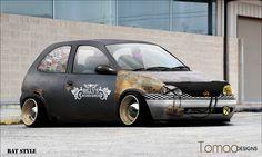 Opel corsa rat style
