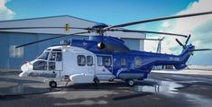 H225 ICG Photo Airbus Airbus Helicopters, Recreational Vehicles, Camper Van, Rv Camping, Camper