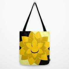 A beautiful durable #totebag for girls who love #flowers and #music #society6