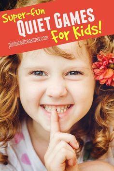 These super-fun quiet games are perfect for those moments when you just need some quiet. Kids AND parents love these! /alicanwrite/