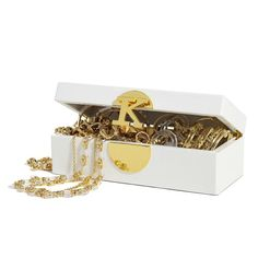 C. Wonder's monogram jewelry box ( use it to store watches)