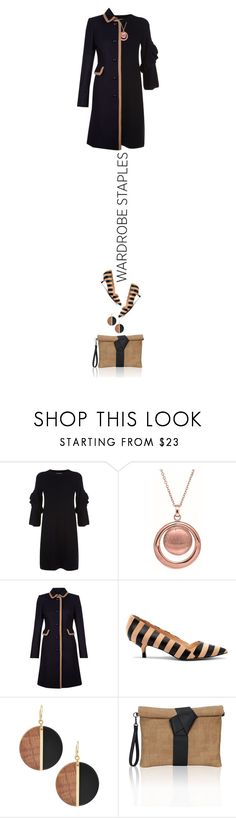 """""""simple: wardrobe staples"""" by paperdollsq ❤ liked on Polyvore featuring Tory Burch, BillyTheTree, Hobbs, Sole Society, Michael Kors, blackandbeige and WardrobeStaples"""