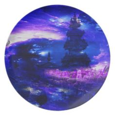 Amethyst Sapphire Bali Dreams Dinner Plate