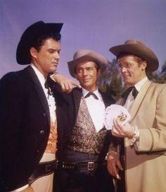 Robert Colbert Jack Kelly and Roger Moore