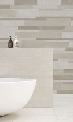 Juxtaposition of wall tiles