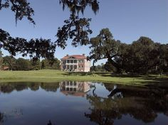 """Drayton Hall was built in 1738 and is America's oldest plantation house open to the public. The historic home features a Georgian-Palladian design and, according to The South Carolina Department of Archives and History, is """"without question one of the finest of all surviving plantation houses in America."""""""