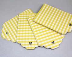 Popular items for gingham paper on Etsy
