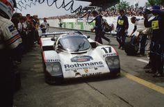 1987 Le Mans Porsche 962 C LH