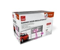 Owens-Corning 500824 Garage Door Insulation Kit, Includes R-8 Fiberglass Panels with White Vinyl Facing, Insulates Single Garage Door Up To 9-Feet Wide