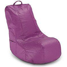 Standard Video Bean Bag Chair in Plum