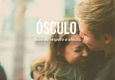 ósculo #beso de #respeto y #afecto
