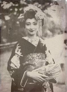 19th c. geisha