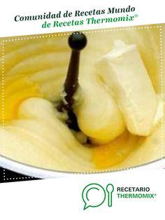 Puré de patata excelente por Fredio. La receta de Thermomix<sup>®</sup> se encuentra en la categoría Básicas en www.recetario.es, de Thermomix<sup>®</sup> Cantaloupe, Pudding, Salad, Fruit, Desserts, Food, Homemade Mashed Potatoes, Potato Recipes, 4 Ingredients