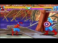 Spiderman VS Captain America Marvel Super Heroes Game