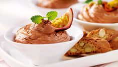 Suklaamousse Kermit, Mousse, Ice Cream, Visa, Ethnic Recipes, Desserts, Food, Sherbet Ice Cream, Meal