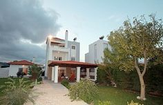 Beach Front Villa with direct beach access on a fantastic Almost Private BeachHoliday Rental in Gennadi from UK Rhodes Beaches, Rent A Villa, Beach Villa, Holiday Apartments, Luxury Accommodation, Private Pool, Luxury Villa, Swimming Pools, Cottage