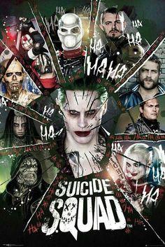 Suicide Squad - Joker, Harley Quinn e Deadshot nei nuovi poster Hero Marvel, Marvel Vs, Comic Movies, Comic Books, Foto Joker, Suiside Squad, Dc Comics, Joker Y Harley Quinn, Der Joker