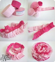 Diy Tissue Paper Flowers Lovely today S Fabulous Finds Crepe Paper Flowers and Girls Valentine Of 25 New Diy Tissue Paper Flowers - 25 New Diy Tissue Paper Flowers Streamer Flowers, Tissue Paper Flowers, Paper Streamers, Paper Roses, Birthday Streamers, Handmade Flowers, Diy Flowers, Fabric Flowers, Flower Diy