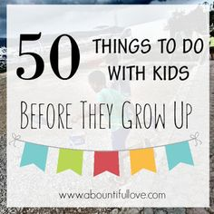 You will build strong relationship with your kids! It really doesnt matter what you do with them, TIME with them is more important. These are fun, frugal and mostly are free things to do with kids. (scheduled via http://www.tailwindapp.com?utm_source=pinterest&utm_medium=twpin&utm_content=post93168655&utm_campaign=scheduler_attribution)