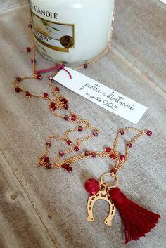 Collane in argento 925 con galvanica oro rosa e pietre...