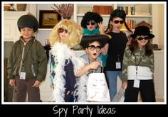 Here are our favorite spy birthday party ideas to help you host a super event. Find tips for invitations, decorations, activities, food, and lots more.