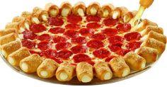 Há dias que somos covardemente  bombardeados pela propaganda da Pizza Hut  e sua inigualável pizza cheese pop  (aquelas com cones recheados ...