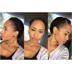 Natural Hair Inspiration, Natural Hair Tips, Natural Hair Journey, Natural Hair Styles, Natural Baby, Protective Hairstyles, Braided Hairstyles, Wedding Hairstyles, Protective Styles