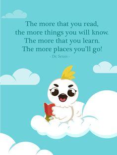 """""""The more that you read, the more things you will know. The more that you learn, the more places you'll go"""" - Dr. Seuss Dengan membaca, Si Kecil bisa berimajinasi dengan lebih luas. Petualangan Boci bisa menjadi alternatif media baca Si Kecil yang sarat akan nilai-nilai moral dan keluarga.  Ayo download aplikasi Petualangan Boci di smartphone kesayanan Anda. ##boci #petualanganboci #appforkids #parenting #mom #anak #ibu #kids #storytelling #apps #quote #family"""