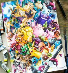 pikachu tattoo ideas ~ pikachu tattoo _ pikachu tattoo small _ pikachu tattoo ideas _ pikachu tattoo black _ pikachu tattoo simple _ pikachu tattoo design _ pikachu tattoo cute _ pikachu tattoo old school Fotos Do Pokemon, Fan Art Pokemon, 3ds Pokemon, Pokemon Sketch, Pikachu Pikachu, Pokemon Eeveelutions, Cute Animal Drawings, Cute Drawings, Vexx Art