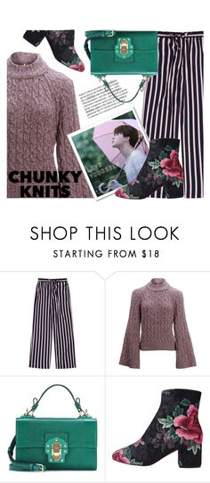 """""""Rose Sweater"""" by only1gigigirl ❤ liked on Polyvore featuring Free People and Dolce&Gabbana"""