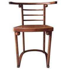 Fledermaus Chair by Josef Hoffmann