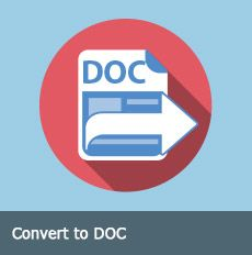 Convert to DOC