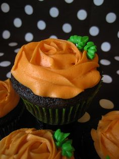 Pumpkin Patch Cupcakes