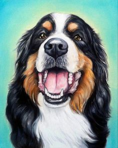 It's simple, just upload a few pictures your pet and receive a custom portrait painting within days! Materials: oil paint, canvas, original artwork, original painting, handmade, custom oil painting, p #OilPaintingPortrait #OilPaintingSimple #OilPaintingDog