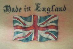 Union Jack tattoo